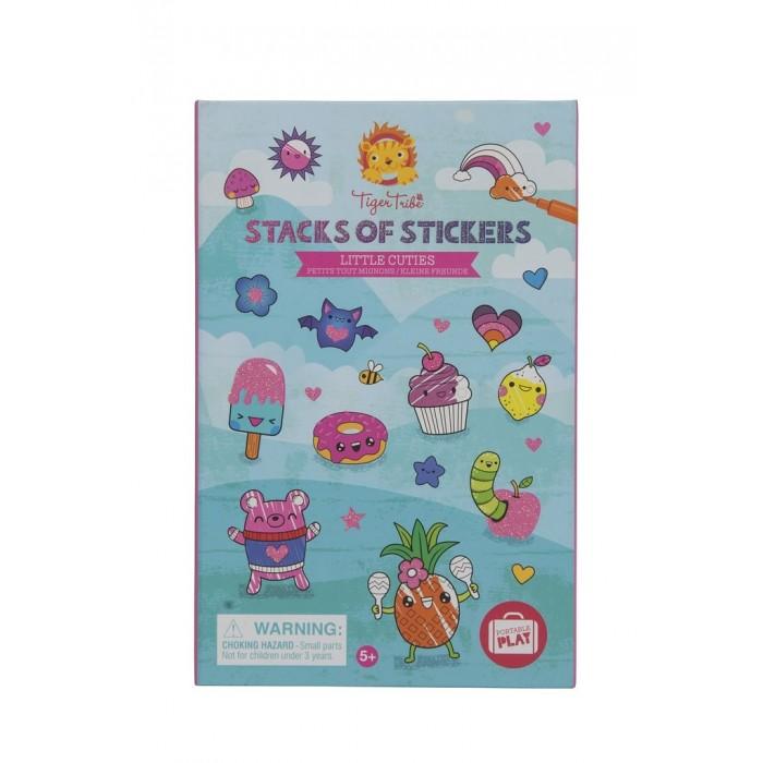 Развитие и школа , Детские наклейки Tiger Tribe Набор для творчества с наклейками Маленькие милашки арт: 506961 -  Детские наклейки
