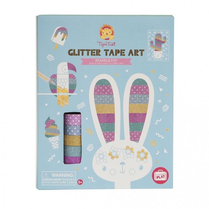 Аппликации для детей Tiger Tribe Набор для творчества Открытки в стиле поп-арт