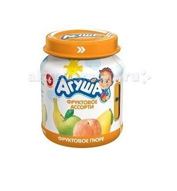 Пюре Агуша Фруктовое пюре Фруктовое ассорти 115 г пюре агуша фруктовое пюре яблоко персик я сам doy pack 90 г