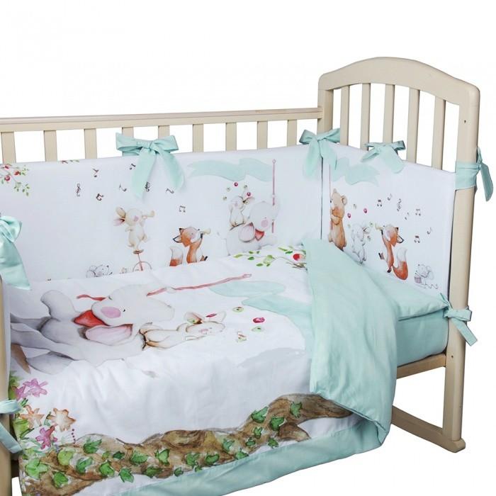 Купить Комплект в кроватку Альма-Няня Цирк (4 предмета) в интернет магазине. Цены, фото, описания, характеристики, отзывы, обзоры