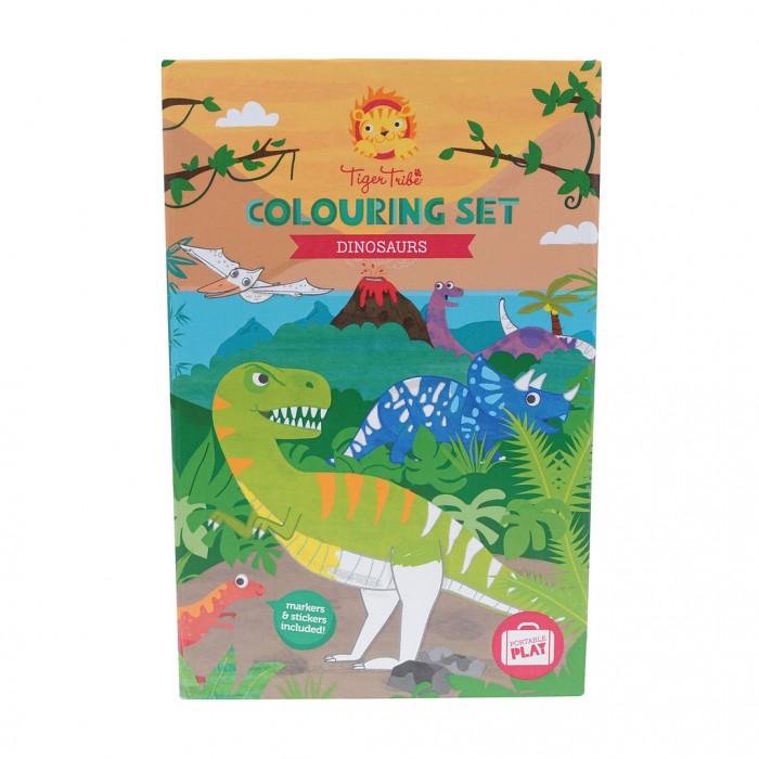 Принадлежности для рисования Tiger Tribe Набор для рисования Динозавры принадлежности для дома new shk1008