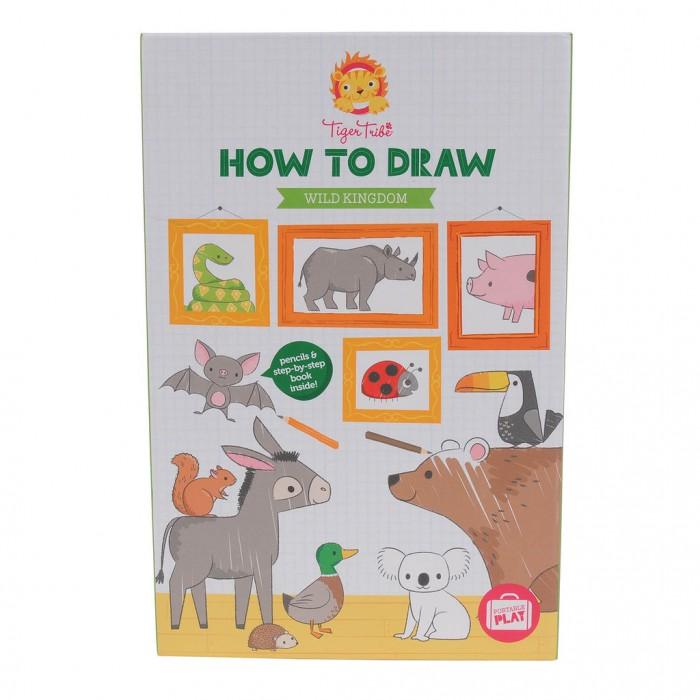 Купить Tiger Tribe Учимся рисовать Царство диких животных в интернет магазине. Цены, фото, описания, характеристики, отзывы, обзоры