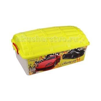 Ящики для игрушек Альтернатива (Башпласт) Контейнер Сундук Формула-2 30 л контейнер для мусора альтернатива герберы 18 л