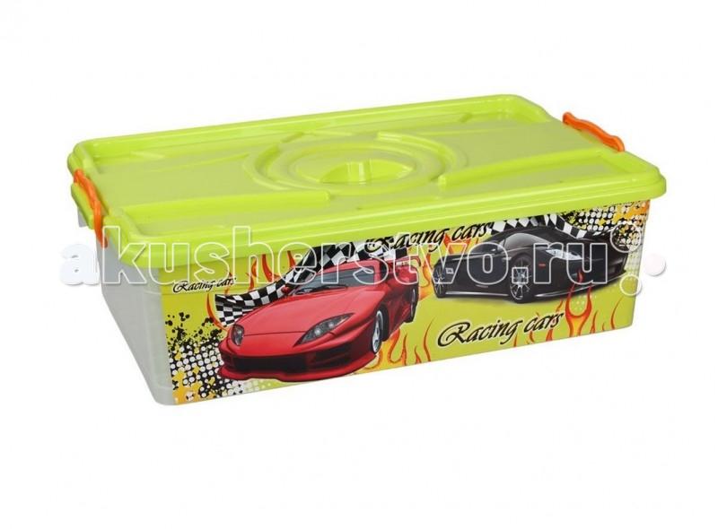Ящики для игрушек Альтернатива (Башпласт) Контейнер Формула-2 30 л контейнер для мусора альтернатива герберы 18 л