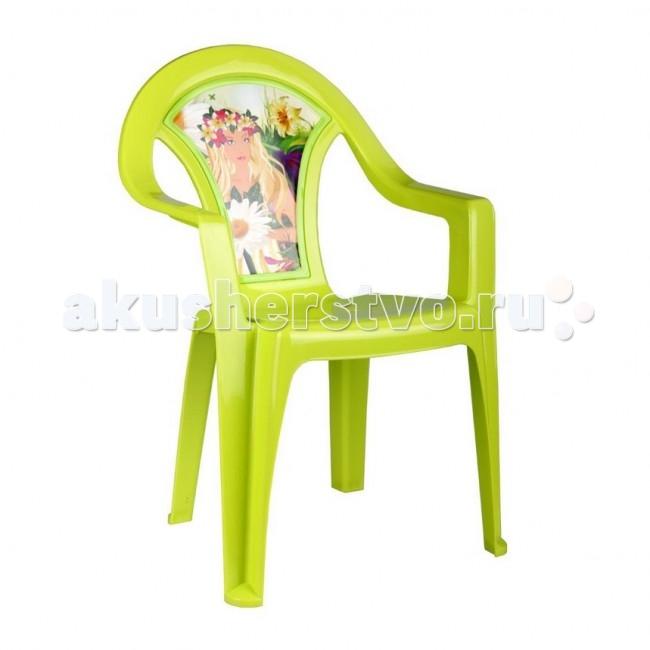 Пластиковая мебель Альтернатива (Башпласт) Кресло детское Лесная нимфа пластиковая мебель альтернатива башпласт кресло детское принцесса