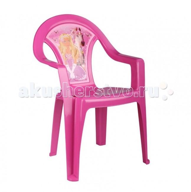 Пластиковая мебель Альтернатива (Башпласт) Кресло детское Принцесса