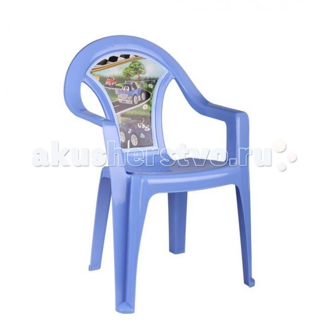 Пластиковая мебель Альтернатива (Башпласт) Кресло детское Тачки пластиковая мебель альтернатива башпласт кресло детское принцесса