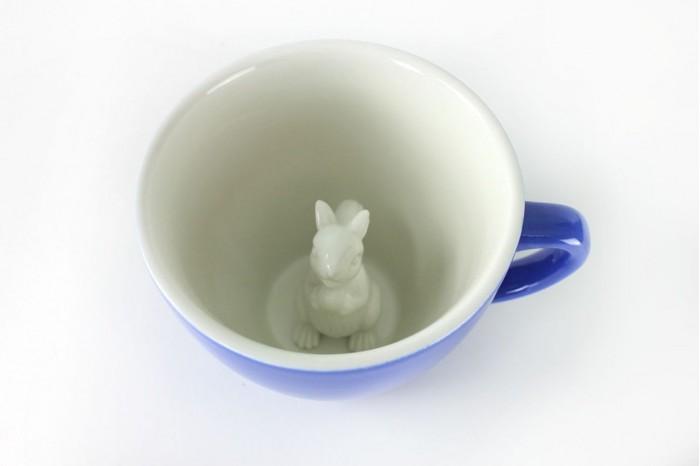 Аксессуары для кормления , Посуда Creature Cups Кружка с белкой 330 мл арт: 507751 -  Посуда