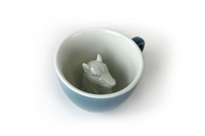 Аксессуары для кормления , Посуда Creature Cups Кружка с волком 330 мл арт: 507761 -  Посуда