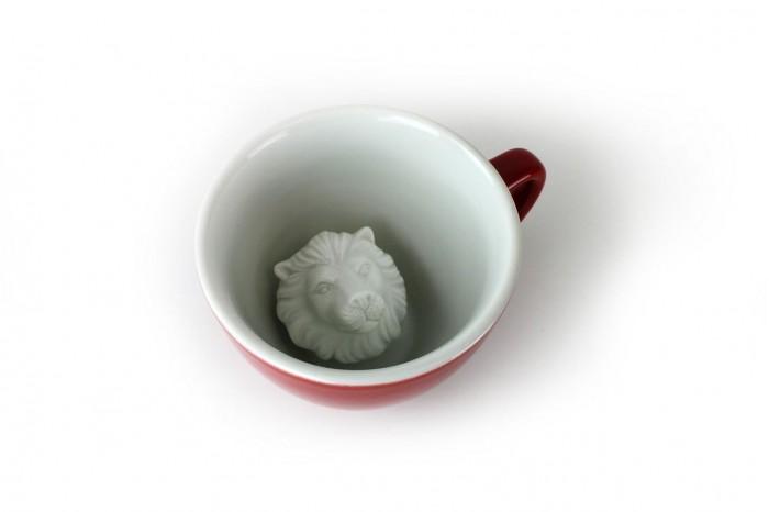 Аксессуары для кормления , Посуда Creature Cups Кружка со львом 330 мл арт: 507786 -  Посуда