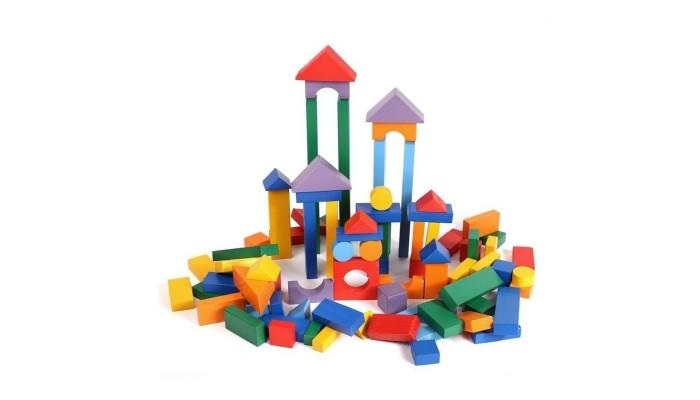 Деревянные игрушки Paremo конструктор 85 деталей окрашенный в деревянном ящике консервы для собак vitalbite с говядиной 85 г х 2 шт с курицей 85 г х 2 шт
