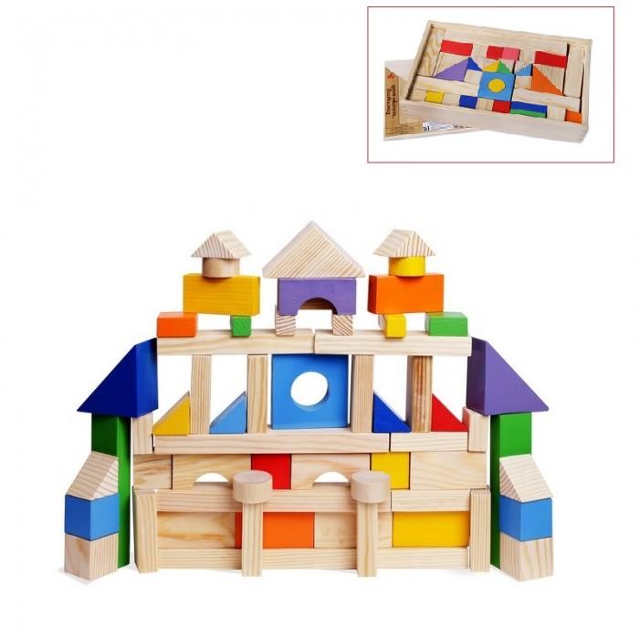 Деревянные игрушки Paremo конструктор 85 деталей окрашенный в деревянном ящике PE117-1 консервы для собак vitalbite с говядиной 85 г х 2 шт с курицей 85 г х 2 шт