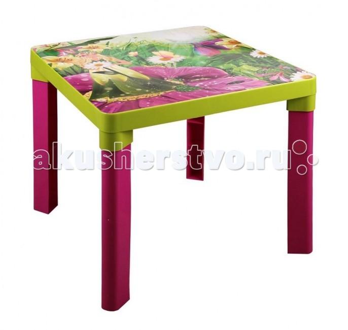 Пластиковая мебель Альтернатива (Башпласт) Стол детский Лесная нимфа пластиковая мебель альтернатива башпласт кресло детское принцесса