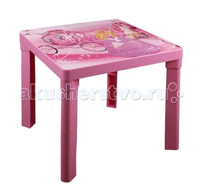 Пластиковая мебель Альтернатива (Башпласт) Стол детский Принцесса пластиковая мебель альтернатива башпласт кресло детское принцесса