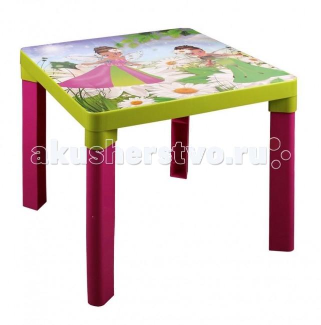 Пластиковая мебель Альтернатива (Башпласт) Стол детский Феи каталки альтернатива башпласт слонёнок