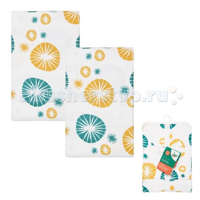Текстильные салфетки HappyBabyDays Салфетки для кормления 2 шт. салфетки duni салфетки 2 шт