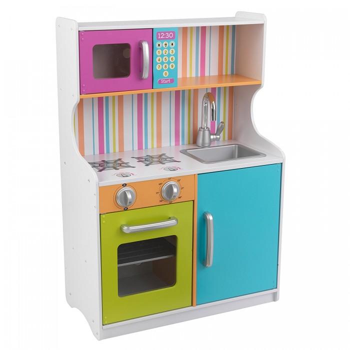 Кукольные домики и мебель KidKraft Деревянная игровая кухня для девочек Делюкс Мини, Кукольные домики и мебель - артикул:508766