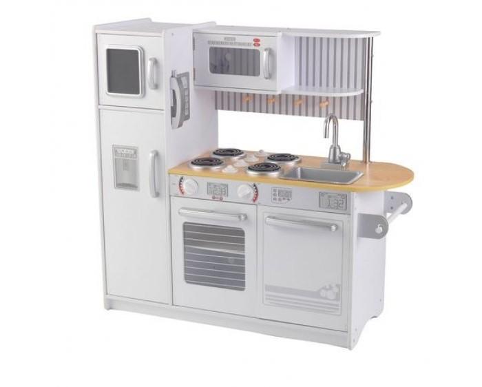 Фото - Ролевые игры KidKraft Деревянная кухня для мальчиков и девочек Аптаун деревянная кухня kidkraft uptown espresso 53260 ke