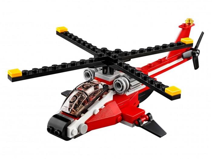 Lego Lego Creator 31057 Лего Криэйтор Красный вертолёт lego creator 31056 лего криэйтор зелёный кабриолет