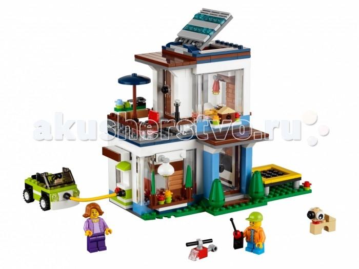 Lego Lego Creator 31068 Лего Криэйтор Современный дом lego creator 31056 лего криэйтор зелёный кабриолет