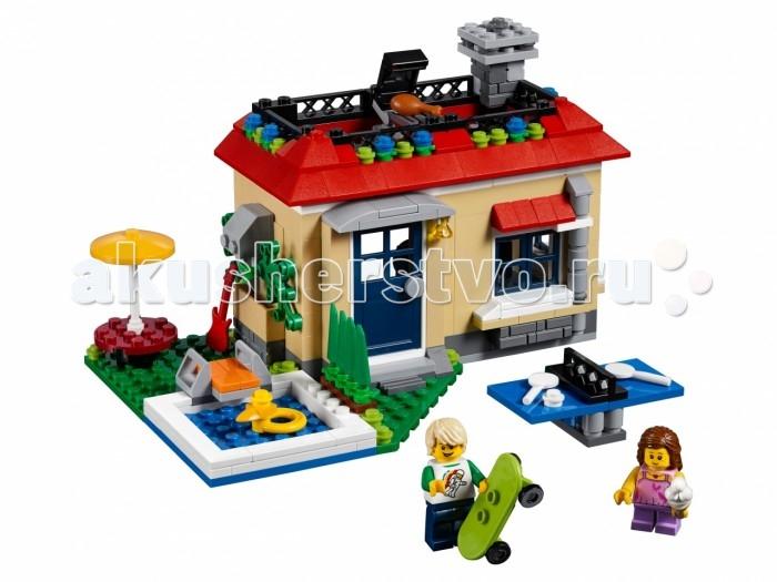 Lego Lego Creator 31067 Лего Криэйтор Вечеринка у бассейна lego creator 31065 лего криэйтор домик в пригороде