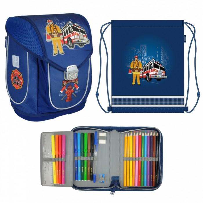 Купить Школьные рюкзаки, Magtaller Ранец школьный Ezzy III Firefighter с наполнением