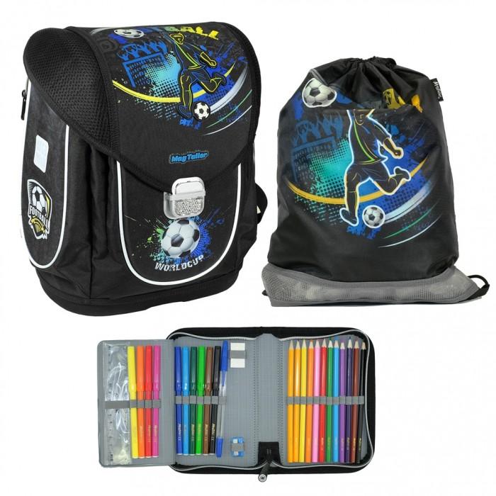 Купить Школьные рюкзаки, Magtaller Ранец школьный Ezzy III Football с наполнением