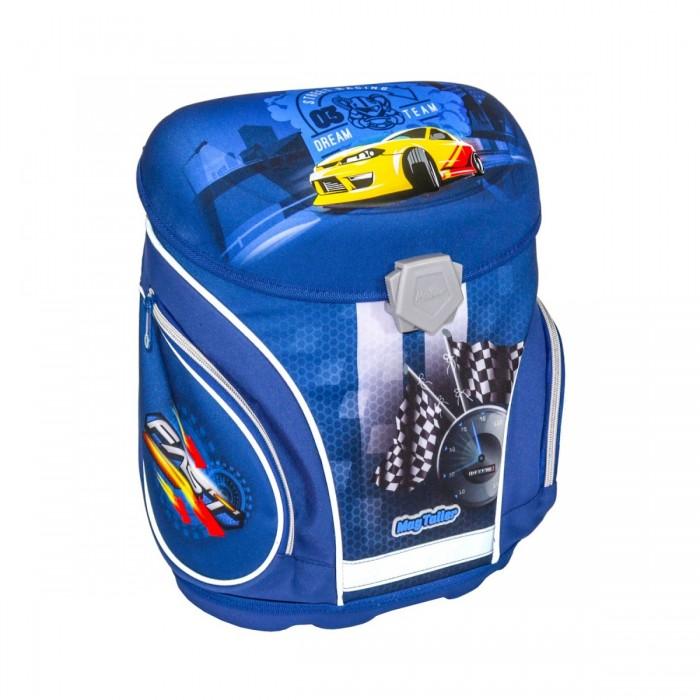 Купить Школьные рюкзаки, Magtaller Ранец школьный J-flex Racing с наполнением