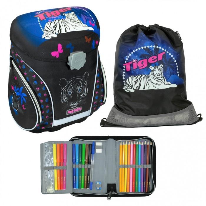 Купить Школьные рюкзаки, Magtaller Ранец школьный J-flex Tiger с наполнением