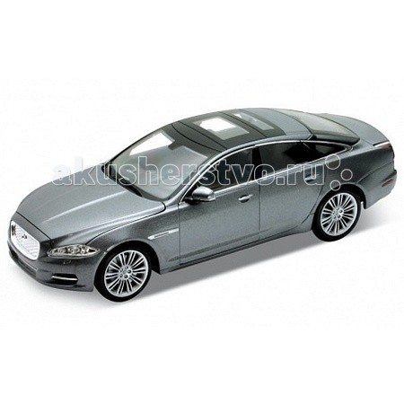 Машины Welly Модель машины 1:24 Jaguar XJ welly welly гараж 3 машины и вертолет