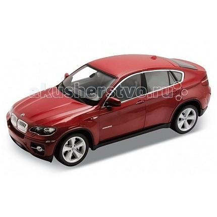 Машины Welly Модель машины 1:24 BMW X6 машина детская welly модель машины 1 24 bmw x6