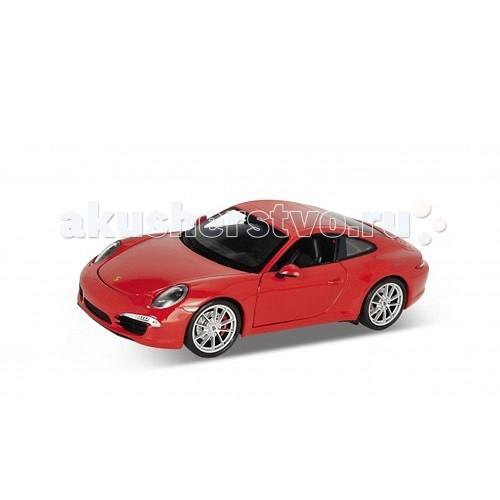 Машины Welly Модель машины 1:24 Porsche 911 (991) внешний жесткий диск lacie stet2000400 porsche design 2tb серебристый stet2000400