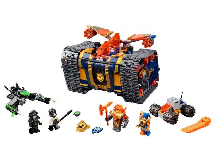 Lego Lego Nexo Knights 72006 Лего Нексо Мобильный арсенал Акселя lego nexo knights 70349 конструктор лего нексо мобильная тюрьма руины
