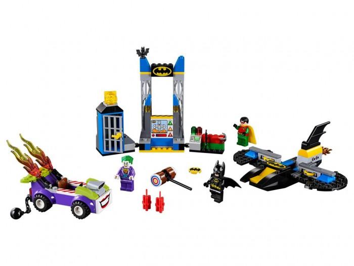 Купить Конструктор Lego Juniors 10753 Лего Джуниорс Нападение Джокера на Бэтпещеру