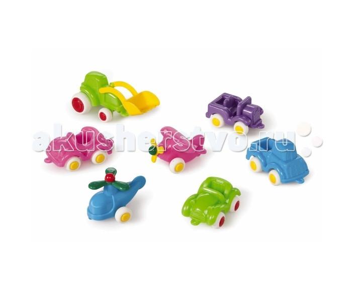 Купить Машины, Viking Toys Набор машинок и авиатехники Мини Fun Color 7 шт.