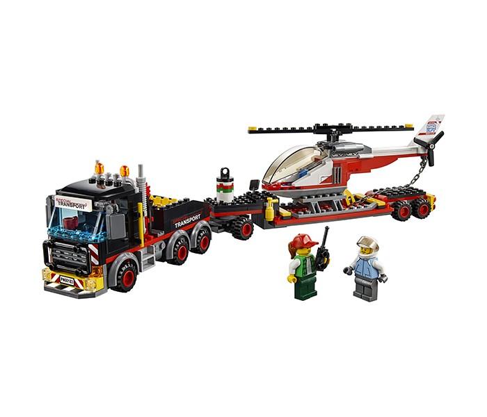 Купить Конструктор Lego City Great Vehicles 60183 Лего Город Перевозчик вертолета