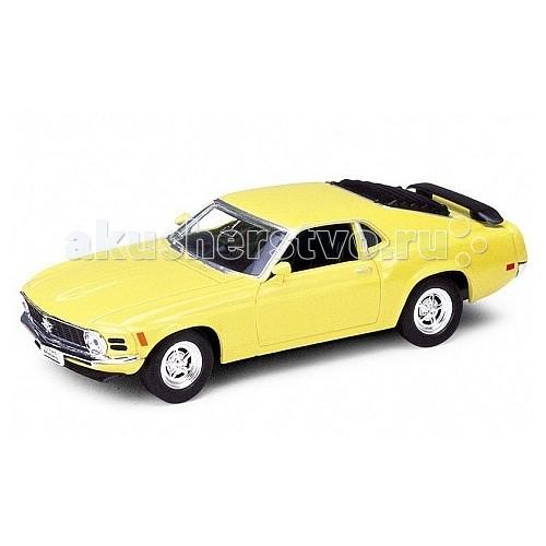 Машины Welly Модель винтажной машины 1:34-39 Ford Mustang 1970 машины welly модель винтажной машины 1 34 39 peugeot 404
