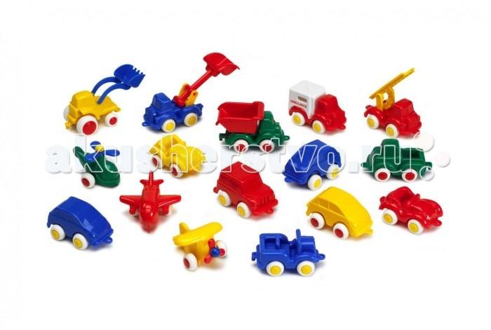 Viking Toys Набор машинок и авиатехники Мини 20 шт. от Viking Toys