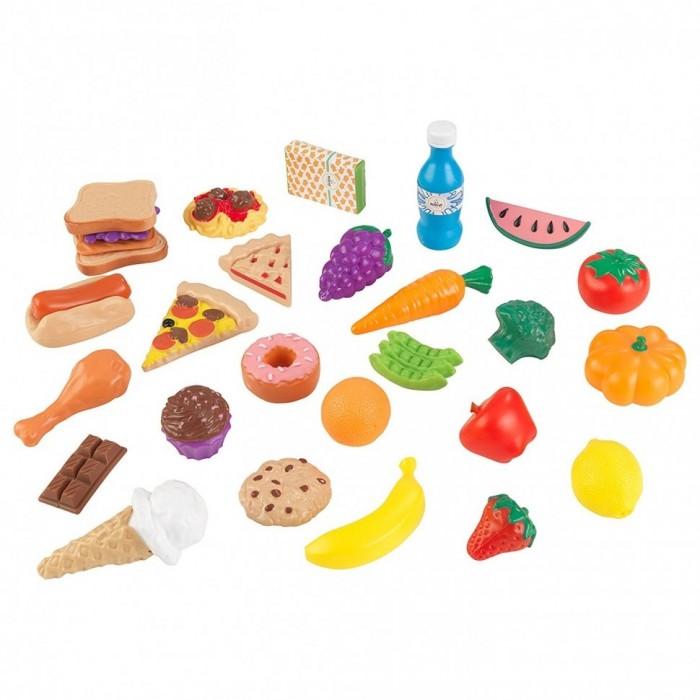 Игровые наборы KidKraft Набор еды Вкусное удовольствие 30 элементов, Игровые наборы - артикул:510281