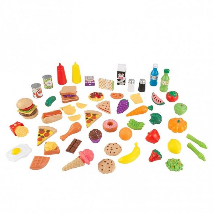 Игровые наборы KidKraft Набор еды Вкусное удовольствие 65 элементов, Игровые наборы - артикул:510301