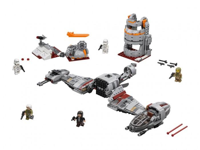 Купить Конструктор Lego Star Wars 75202 Лего Звездные Войны Защита Крайта