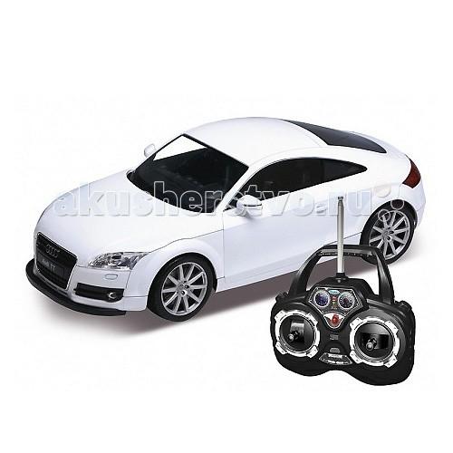 Машины Welly Радиоуправляемая модель машины 1:12 Audi TT автомобиль welly audi r8 v10 1 24 белый 24065