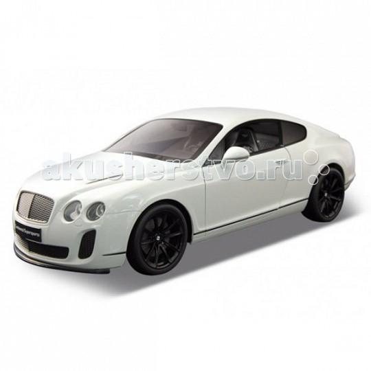 Welly Радиоуправляемая модель машины 1:12 Welly Bentley Continental SupersportsРадиоуправляемая модель машины 1:12 Welly Bentley Continental SupersportsРадиоуправляемая модель машины 1:12 Welly Bentley Continental Supersports  Bentley Supersports – квинтэссенция моделей Bentley GT. Это самый мощный и спортивный автомобиль Бентли. Люксовая модель сочетает в себе исключительный комфорт, качество отделки, элегантность и является при этом полноценным гоночным болидом.  Радиоуправляемая модель Welly Bentley Continental Supersports – точная копия автомобиля, сделанная по лицензии производителя. С помощью пульта можно управлять движением и открывать двери. Во время движения загораются передние и задние фары.  Модель выполнена из ударопрочного пластика. Кузов не снимается. Радиус действия пульта – 30 м  С его помощью можно осуществлять движение, открывать двери. При движении загораются фары.  Для работы необходимо – 4 АА батарейки в пульт и 6 АА батареек в машину.  Размер модели – 48 x 22 x 17 см<br>