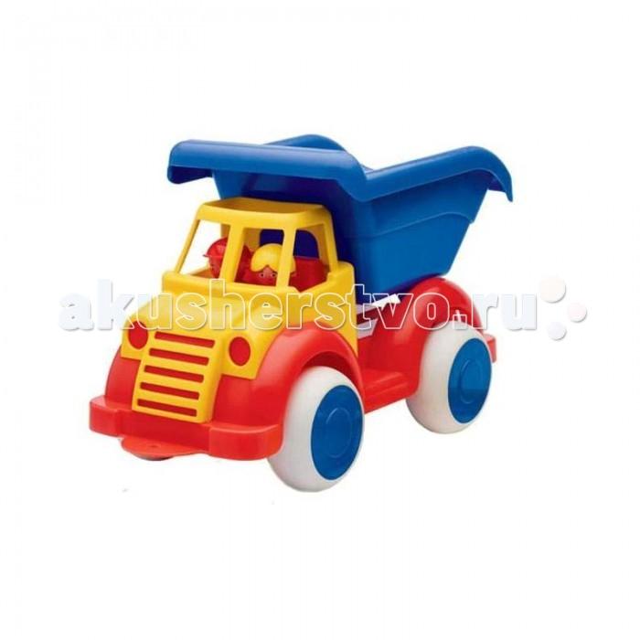 Купить Машины, Viking Toys Функциональная машинка Самосвал Jumbo 35 см с 2 фигурками