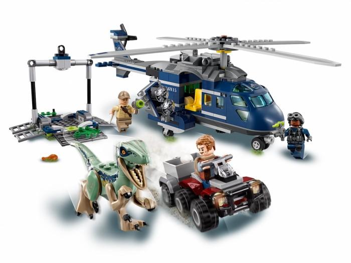 Купить Конструктор Lego Jurassic World 75928 Мир Юрского Периода Погоня за Блю на вертолёте