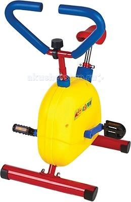 Moove&amp;Fun Велотренажер механическийВелотренажер механическийВелотренажер Moove&Fun детский механический  идеально подходит для проведения тренировок детей в игровой форме.   Особенности:    Эргономика специально разрабатывалась для детей.   Корпус защищен пластиковым кожухом.   Тренажер с успехом может применяться как дома, так и в любых детских учреждениях, комнатах отдыха.  Позволяет проводить тренировки сердечно-сосудистой и дыхательной систем, способствует развитию выносливости  Обеспечивает максимальный комфорт благодаря эргономичному дизайну сидения, рукояток и педалей.  Низкое стартовое сопротивление.  Бесступенчатый механический переключатель обеспечивает равномерное сопротивление, делает ход тренажера плавным и бесшумным.  Имеет удобное, регулируемое по высоте сидение.   Длина: 50 Ширина: 39,5 Высота: 68,5 Максимальный вес ребенка, кг: 50<br>