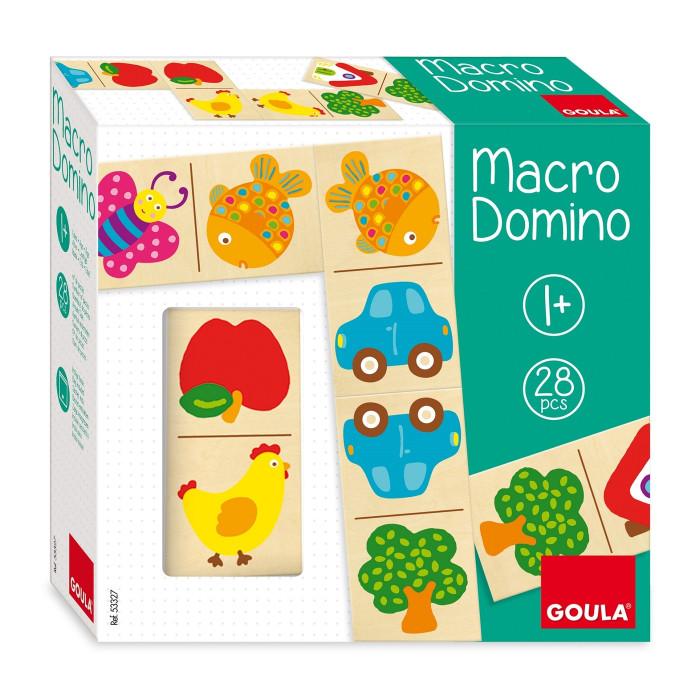 Купить Деревянные игрушки, Деревянная игрушка Goula Макро домино