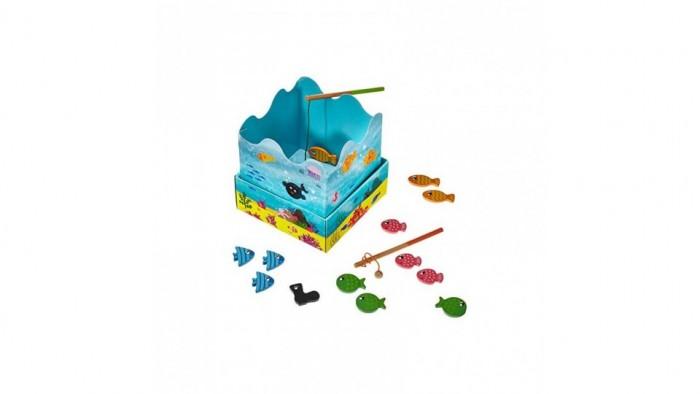 Купить Деревянные игрушки, Деревянная игрушка Goula Игра Рыбалка