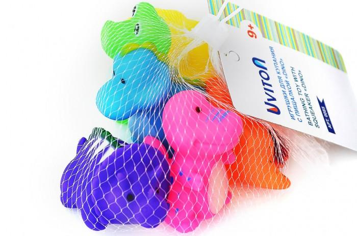 Игрушки для ванны Uviton Игрушка для купания Dino 6 шт. игрушки для ванны goki игрушка для купания утка 1 шт