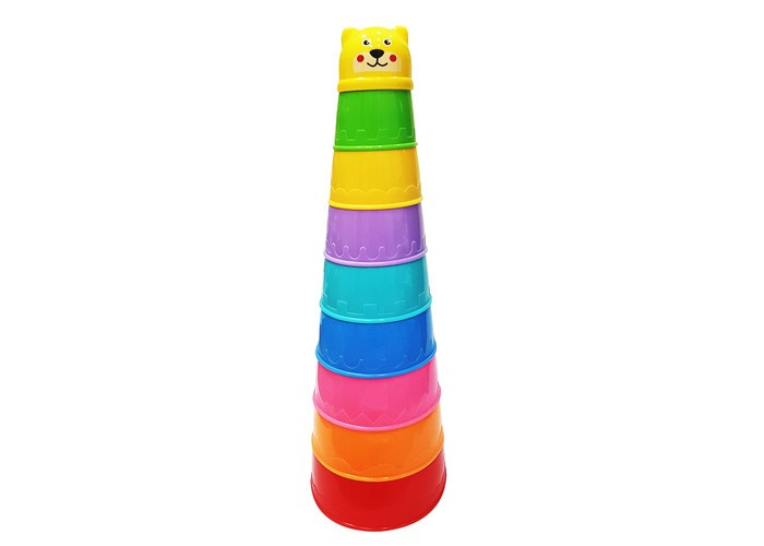 Развивающие игрушки Uviton Пирамидка 0067 краснокамская игрушка развивающая пирамидка кольцевая